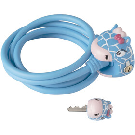 Crazy Safety Giraffe Lock 120/8, blue